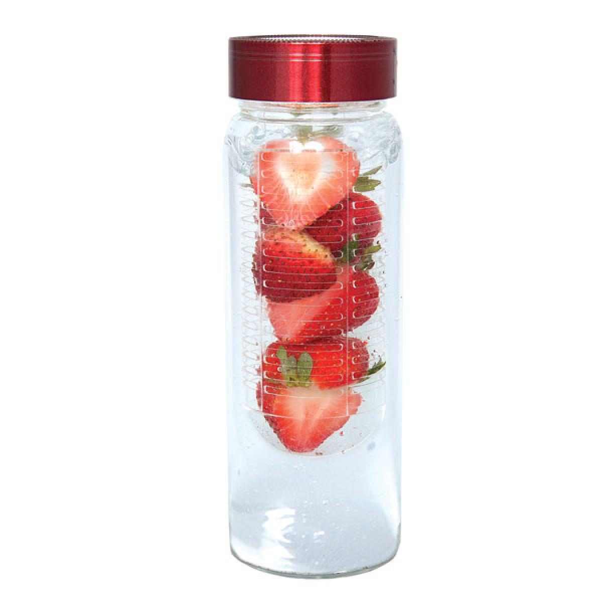 bouteille d 39 eau avec infuseur fruits 16 oz. Black Bedroom Furniture Sets. Home Design Ideas