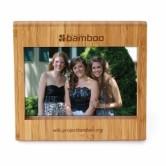 cadre photo en bamboo