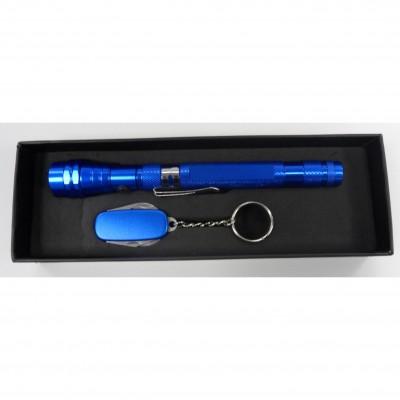 Ensemble de porte-clé multi-fonctions et lampe de poche