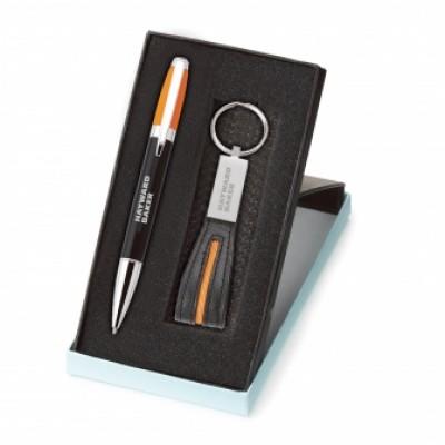 Ensemble stylo et porte-clés