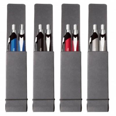 Ensemble stylos et pousse-mines