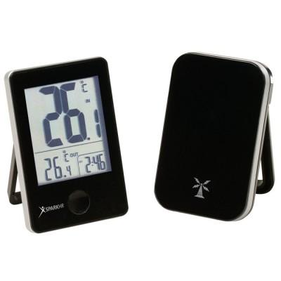 Météo-thermomètre int.ext.