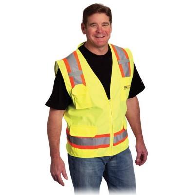 Veste de sécurité 2 tons/6 poches