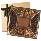 Boîte de gâteries au chocolat personnalisée