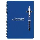 Cahier de notes et stylo