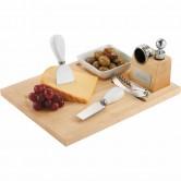 Ensemble vin et fromage 7 pièces