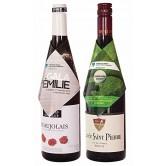 Habit pour bouteille de vin