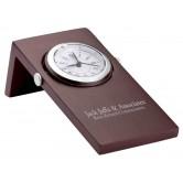 Horloge analogue en bois