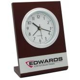 Horloge de bureau en bois