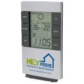 Horloge station météo