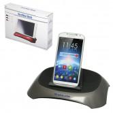 Support Bluetooth avec haut-parleur