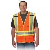 Veste détachable à mailles 2 tons X